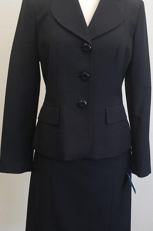 Le Suit, Black Suit, Size 8    SOLD