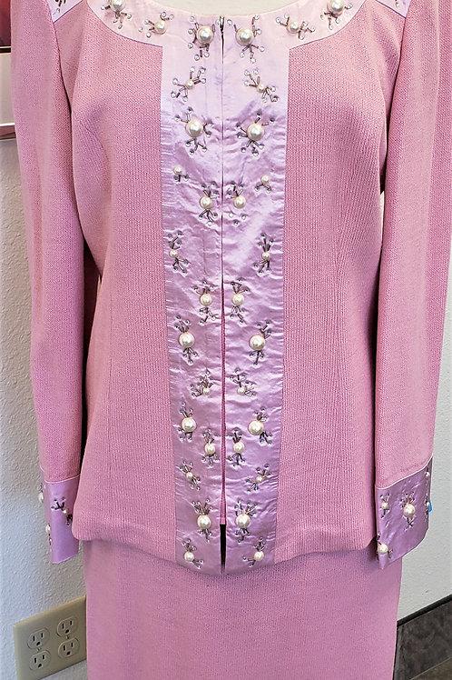 Donna Vinci Knit Suit, Size 14