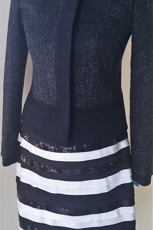 Ann Taylor Jacket Size 0P, WH/BM Skirt NWT Size 00   SOLD