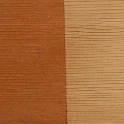 L-Nutmeg Stained Cedar, R-Cedar