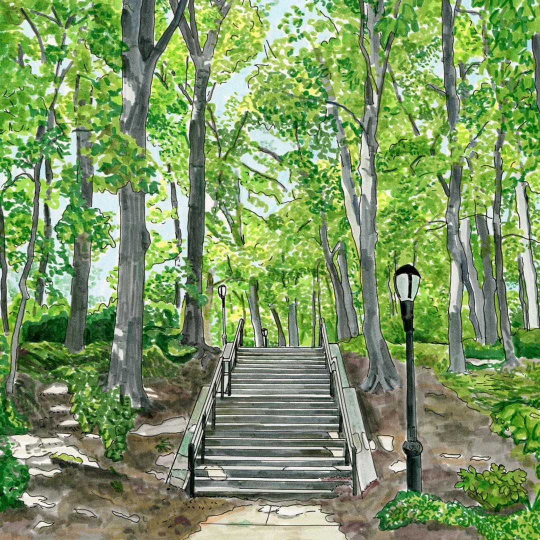 "Linda Ganjian, ""Forest Park"""