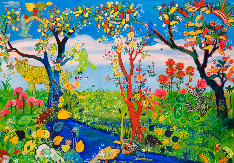 "Lily Honglei, ""Sunken Garden"""