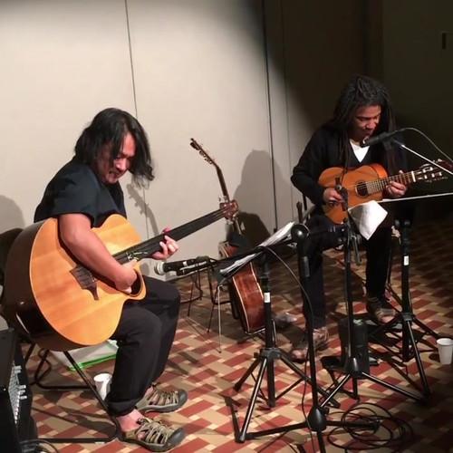 Brandon Ross & Stomu Takeishi