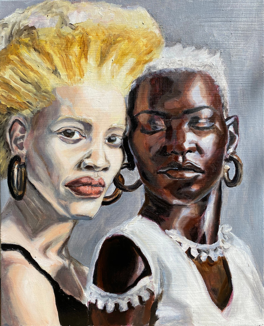 """Dario Mohr, """"Black Women"""""""