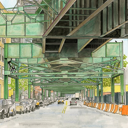 Postcards from Queens (Forest Park & 7 Train)