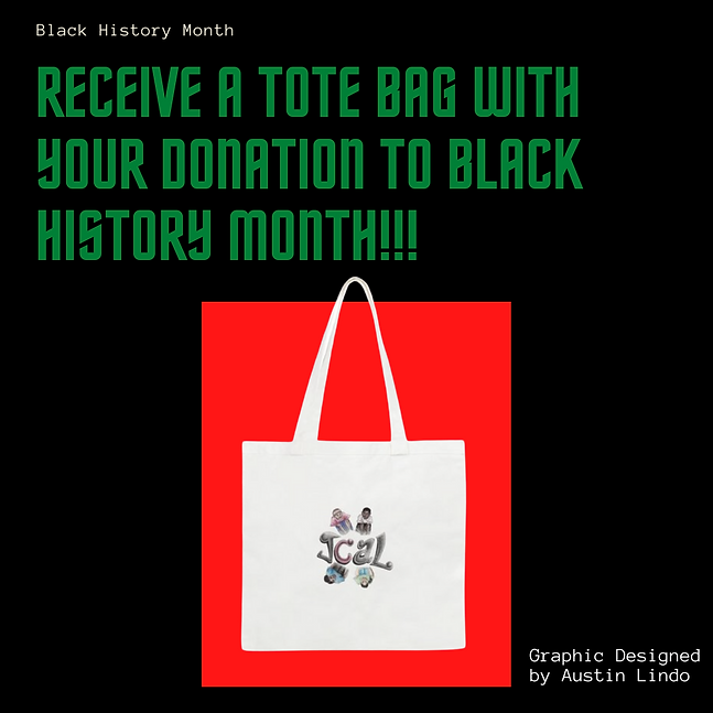 Receieve a tote bag with your donation!.