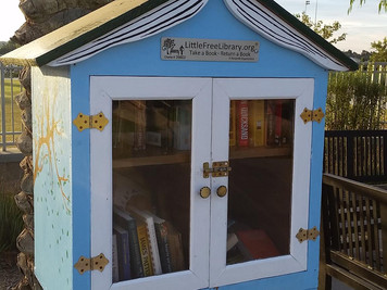 Little Free Book Library