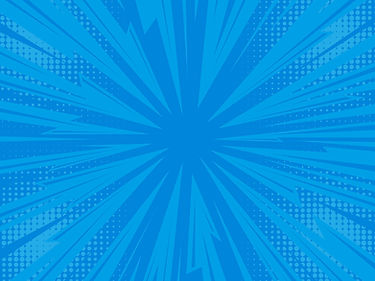 Blue pop art