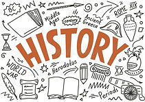 history-doodles-lettering-white-backgrou
