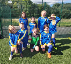 Year 5 and 6 girls footballl