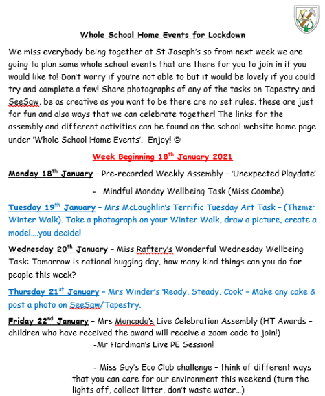 18th Jan whole school events.PNG