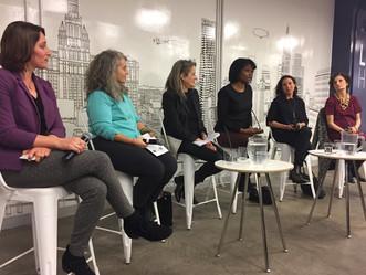 Recap of ELNYA event on women leaders in the arts