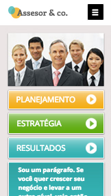 Propaganda e Marketing website templates – Assessoria e Consultoria