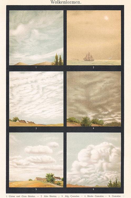 Wolkenformen