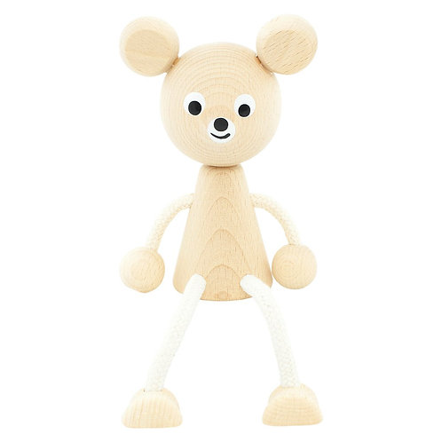 Wooden Sitting Toy | Sophie Bear