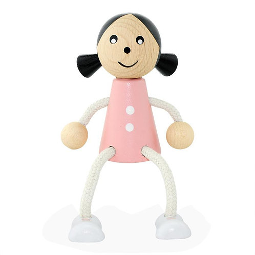 Wooden Sitting Toy | Penelope Girl