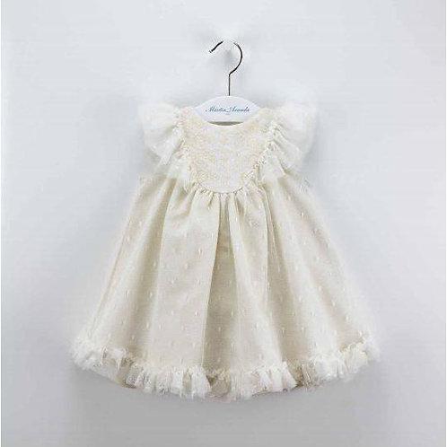 Martin Aranda Cream Lace Dress | 12m