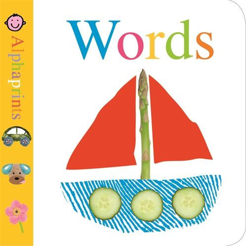 Words Board Book | Alphaprints
