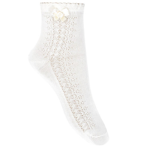 Condor 2709/4 Openwork Rosette Ankle Sock