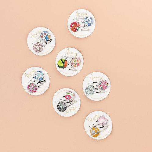 Anna's Liberty Button Clip Set | Assorted