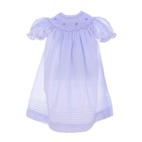 Blue Bishop Dress | 0-12m