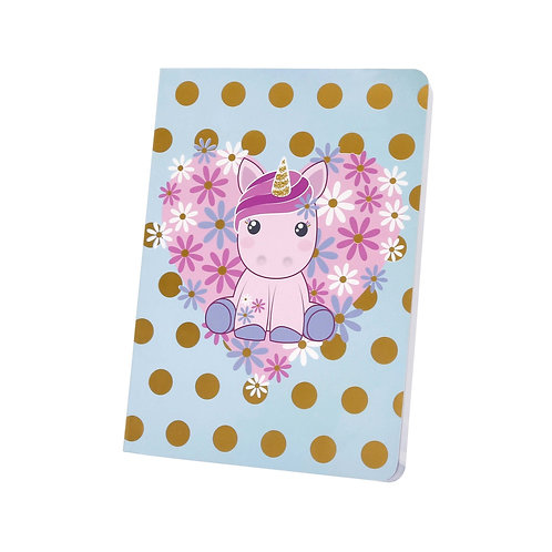 Small Lined Notebook Candy Cloud