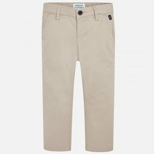 Spanish Mayoral Beige Trousers Front