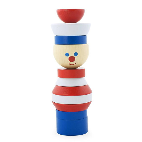 Wooden Stacking Puzzle | Jerry Sailor