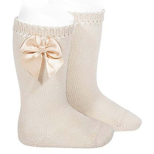 Condor 2551/2 Bow Knee High Sock