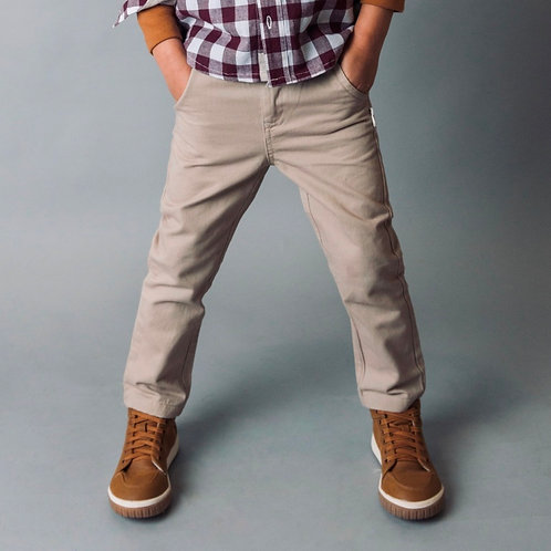 Love Henry Beige Chino Pant Front