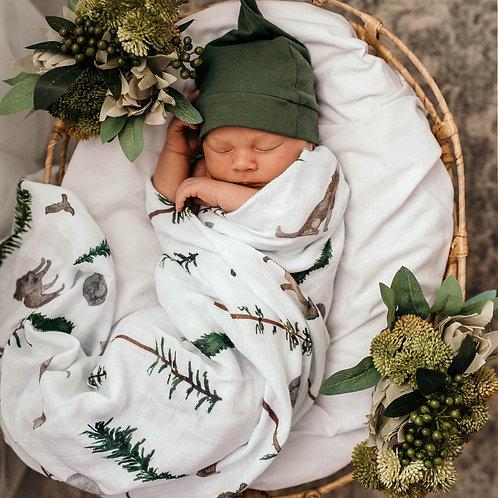 Snuggle Hunny Kids Organic Muslin Wrap   Alpha