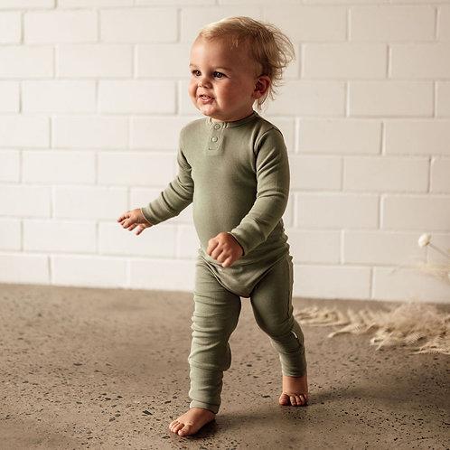 Snuggle Hunny Kids Organic Growsuit | Dewkist