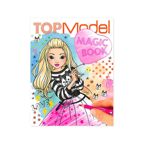 Top Model Magic Colouring Book