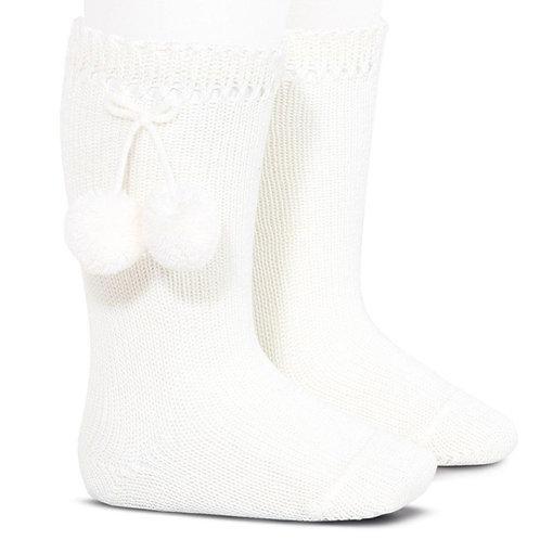 Condor 2504/2 Pom Pom Perle Knee High Sock