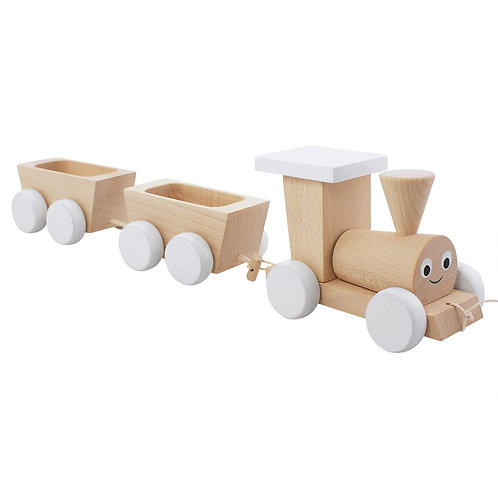 Wooden Pull Along Toy | Theodore Train