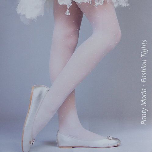 Cecilia de Rafael Polka Dot 20 Denier Girls Stockings