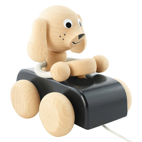 Wooden Pull Along Toy | Jude Dog