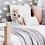 Thumbnail: Snuggle Hunny Kids Diamond Knit Baby Blanket   Warm Grey