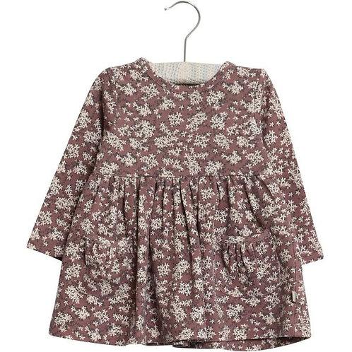 Wheat Dress Viola Plum   3m