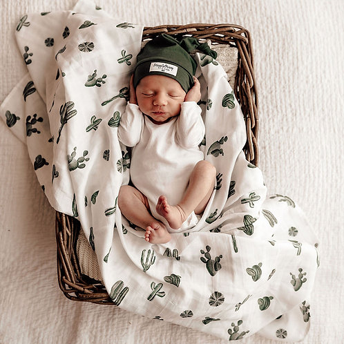 Snuggle Hunny Kids Organic Muslin Wrap | Cactus