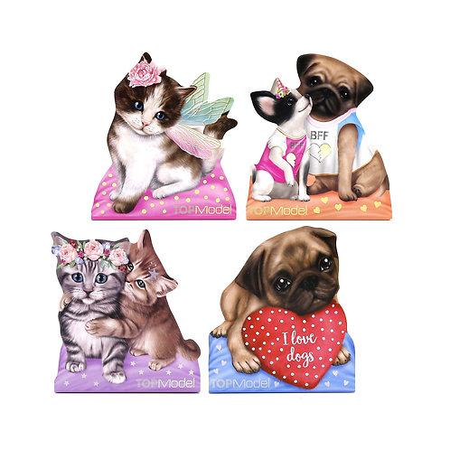 Top Model Kitty & Doggy Shaped Memo Pad