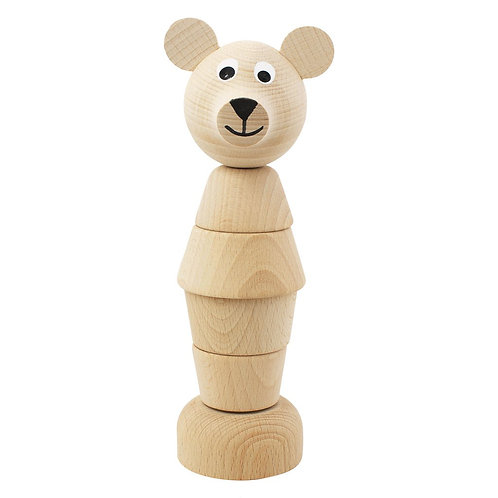 Wooden Stacking Puzzle | Edmond Bear