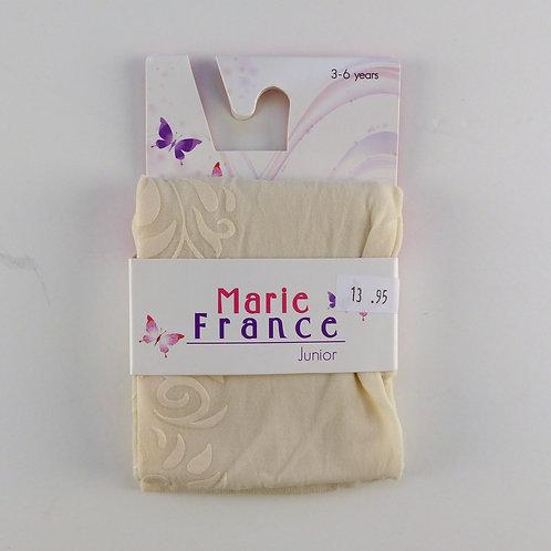 Marie France Cream Lorraine Tights