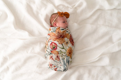 Pop Ya Tot Muslin Swaddle | Le Piccadilly