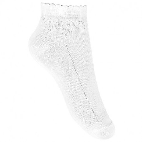 Condor 2777/4 Lace Detail Ankle Socks