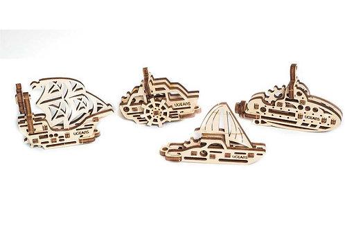 Ugears Miniature Model   Fidget Ships