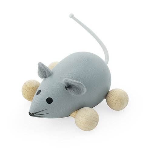 Wooden Push Along Toy | Dusty Mouse