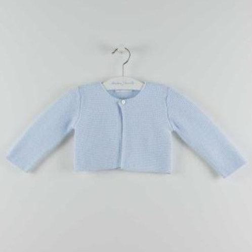 Martin Aranda Light Blue Knitted Cardigan | 12m