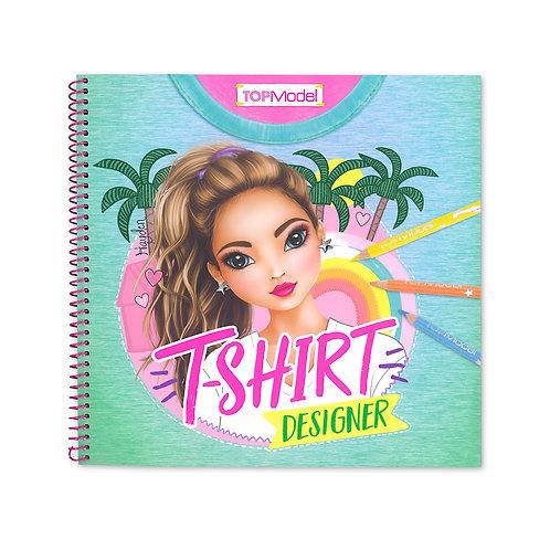 Top Model T-Shirt Designer Colouring & Activity Book
