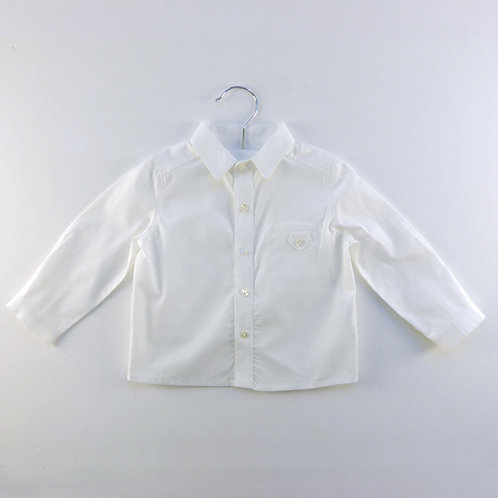 Martin Aranda Long Sleeve Off-White Shirt | 12m